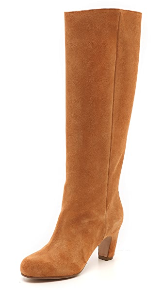 Maison Martin Margiela Suede Knee High Boots