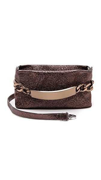 Maison Martin Margiela Crinkled Leather ID Clutch