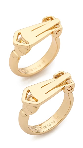 Maison Martin Margiela Double Finger Rings