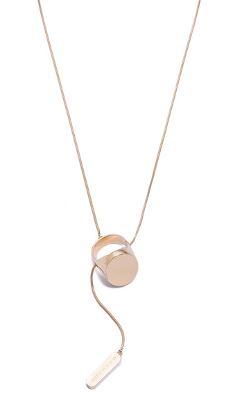 Maison Martin Margiela Ring Lariat Necklace