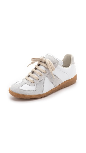 Maison Martin Margiela Leather & Suede Sneakers