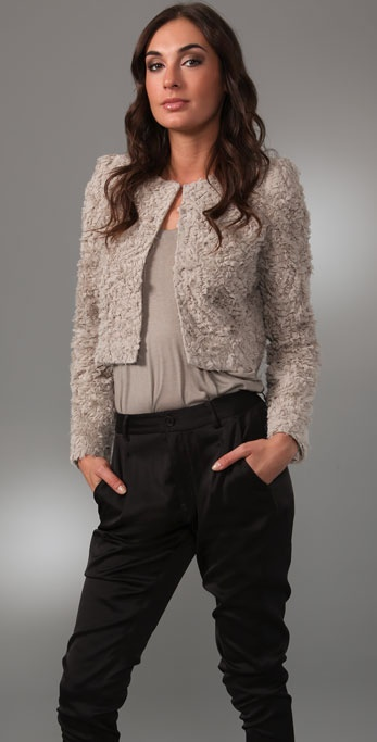 Markus Lupfer Fluffy Lauren Jacket