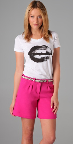 Markus Lupfer Painted Lip Rachel Tee