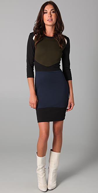 Markus Lupfer Nordic Body Con Dress