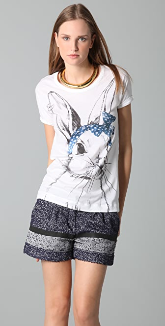 Markus Lupfer Bunny Hannah Tee