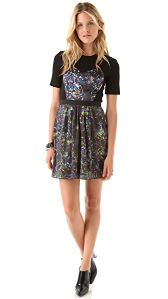 Markus Lupfer Silk Kaleidoscope Dress