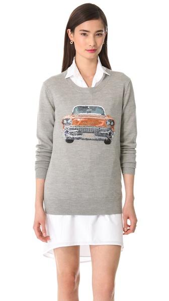 Markus Lupfer Cadillac Sequin Sweater