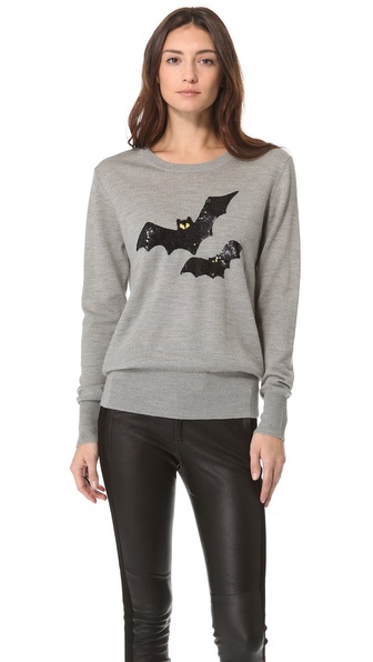 Markus Lupfer Bat Sequin Pullover