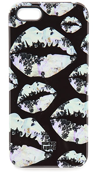 Markus Lupfer Graffiti Smacker Lip iPhone 5 / 5S Case