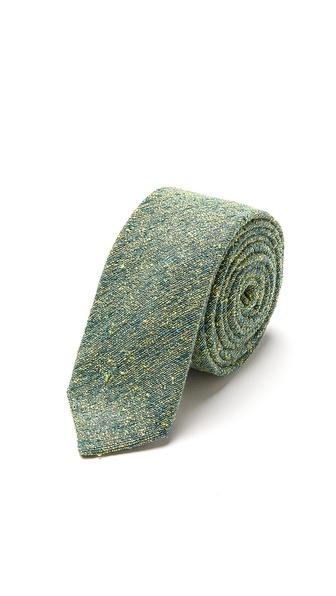 Marwood Slub Silk Necktie