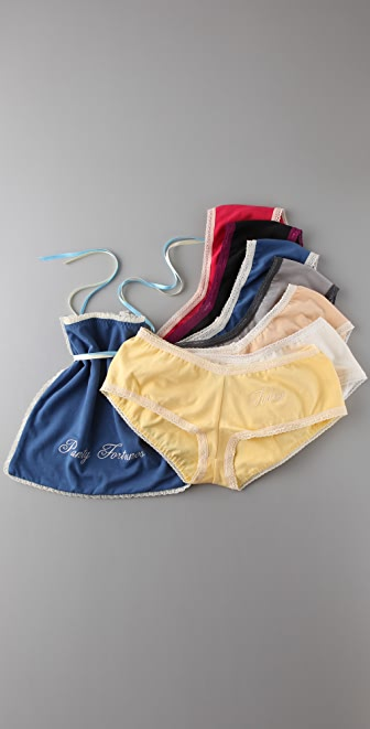 Mary Green Panty Fortunes Boy Shorts Set
