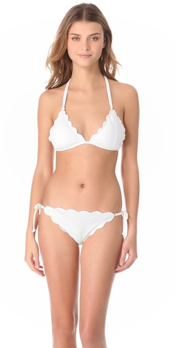 Shop Marysia Swim Cay Scallop Bikini and Marysia Swim online - Apparel, Womens, Swim, Swim,  online Store