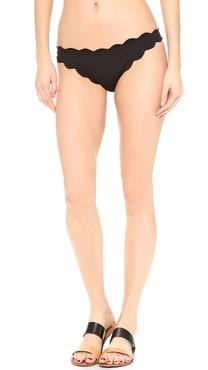 Marysia Swim Antibes Scallop Bikini Bottoms