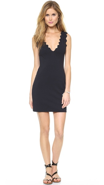 Marysia Swim Fitted Scallop Dress