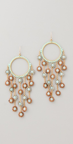 Miguel Ases Amazonite & Miyuki Earrings