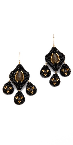 Shop Miguel Ases Labradorite Chandelier Earrings and Miguel Ases online - Accessories,Womens,Jewelry,Earring, online Store