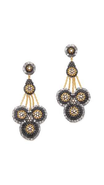 Miguel Ases Trinity Earrings