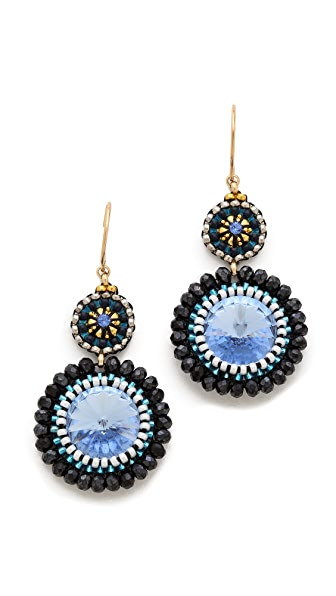 Miguel Ases Sea Earrings
