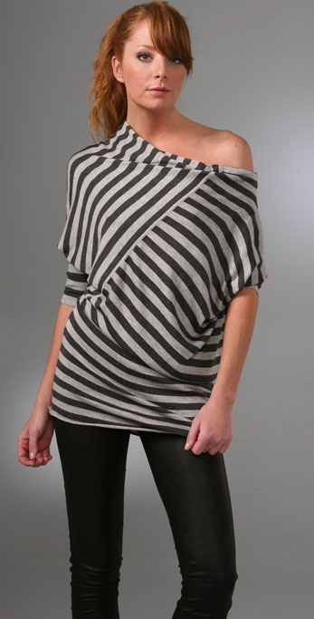 Mason by Michelle Mason Asymmetrical Sweater