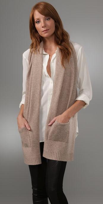 Mason by Michelle Mason Scarf Vest