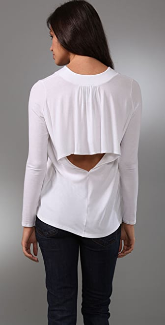Mason by Michelle Mason Open Back Top