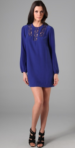 Mason by Michelle Mason Long Sleeve Mini Dress