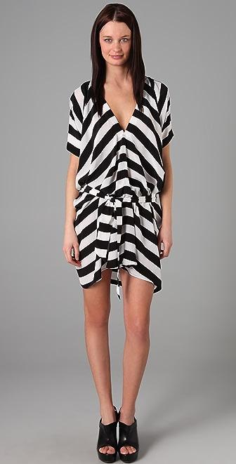 Mason by Michelle Mason V Neck Dress