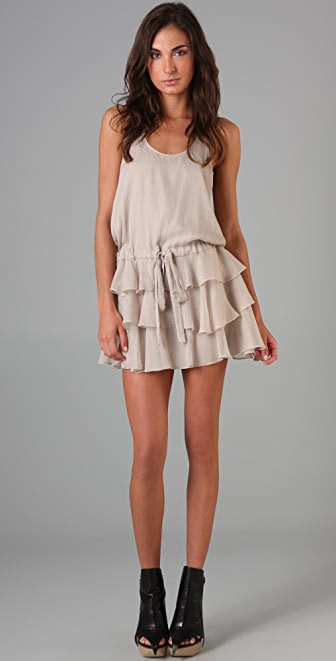 Mason by Michelle Mason Ruffle Tank Dress