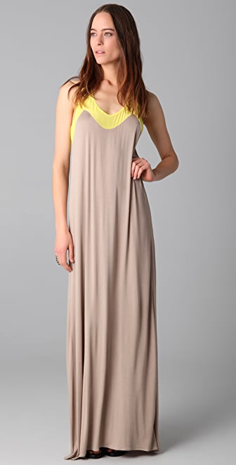 Mason by Michelle Mason Tank Maxi Dress