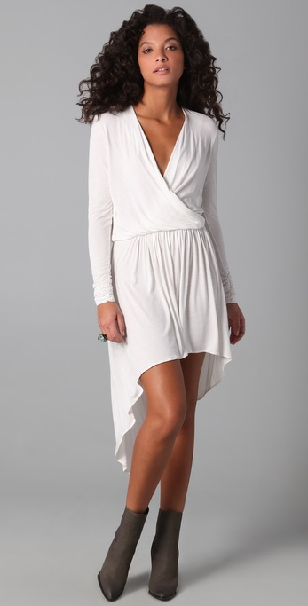 Mason by Michelle Mason Wrap Dress
