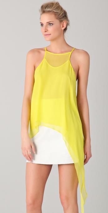 Mason by Michelle Mason Asymmetrical Camisole
