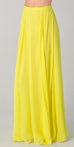 Mason by Michelle Mason Maxi Skirt