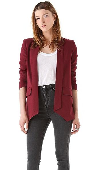 Mason by Michelle Mason Shawl Collar Jacket