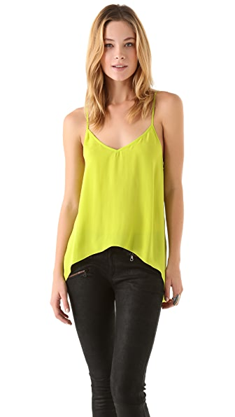 Mason by Michelle Mason Draped Hem Camisole