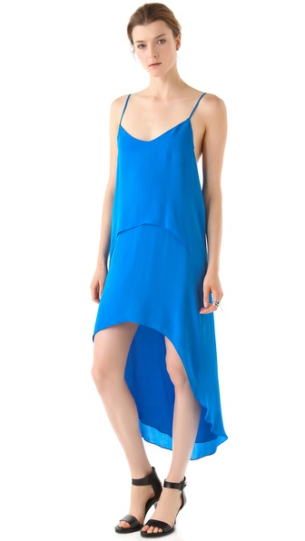 Mason by Michelle Mason Double Layer Dress