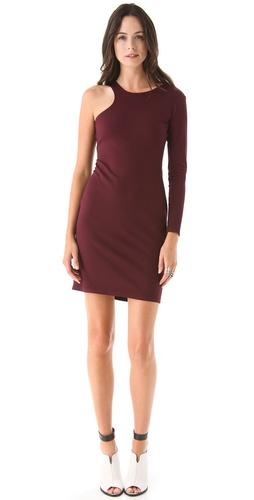 Mason by Michelle Mason One Sleeve Dress
