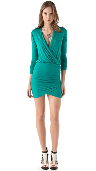 Mason by Michelle Mason Wrap Mini Dress