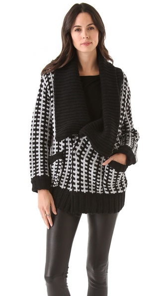 Mason by Michelle Mason Car Coat Cardigan