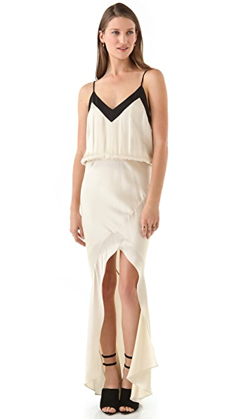 Mason by Michelle Mason Strappy Gown