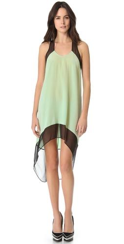 Mason by Michelle Mason Colorblock Trapeze Dress
