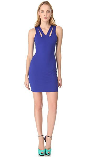 Mason by Michelle Mason Cutout Tank Dress