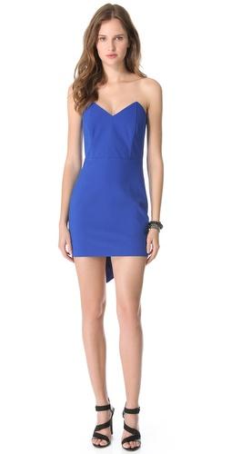 Mason by Michelle Mason Corset Mini Dress