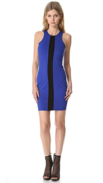 Mason by Michelle Mason Tricolor Tank Dress