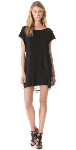 Mason by Michelle Mason Open Back Tunic Dress
