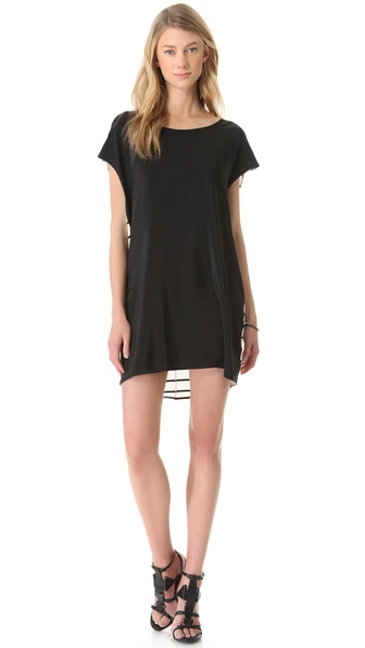 Mason by Michelle Mason Open Back Tunic Dress