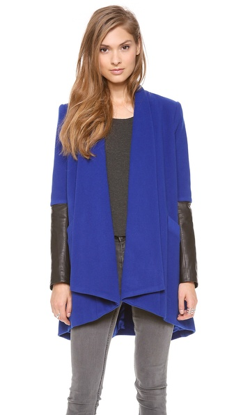 Mason by Michelle Mason Oversized Car Coat