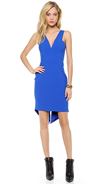 Mason by Michelle Mason V Neck Dress