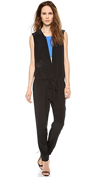 Mason by Michelle Mason Jumpsuit with Contrast