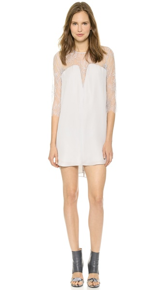 Mason by Michelle Mason Lace Shift Dress