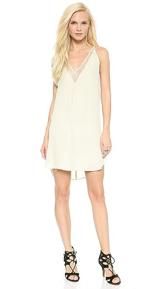 Mason by Michelle Mason Slip Dress with Lace